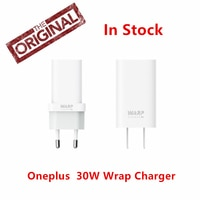 100% Original OnePlus Warp Charge 30 Power Adapter Warp 30W EU Charger EU US Charger Cable Quick Charge 30W For OnePlus 7 7T Pro
