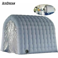 high quality 3x2x2 5mh inflatable sterilisation channel disinfection tent custom tunnel for enterprise community protection