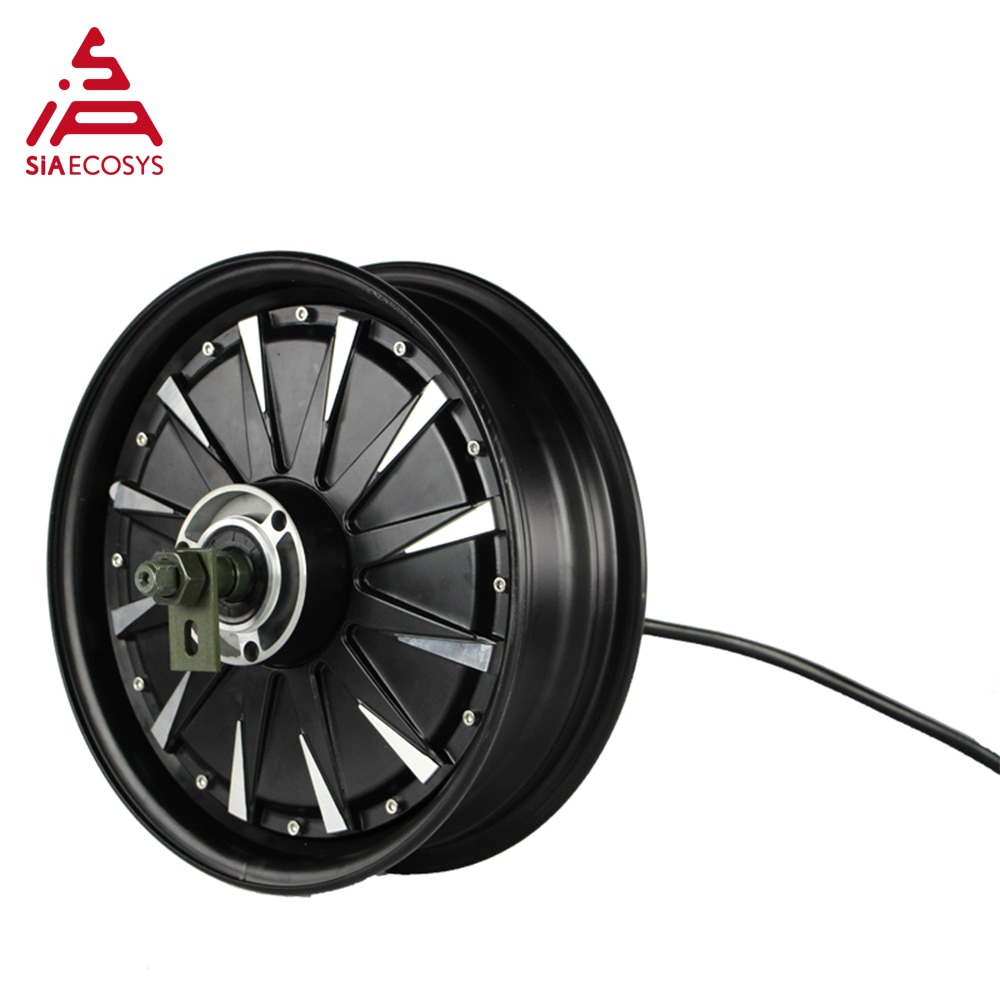 QS Motor 12inch 2000W 260 V1.12 Motor Conversion Kits 65kph BLDC In Wheel Hub Motor with EM100SP Controller for Electric Scooter enlarge