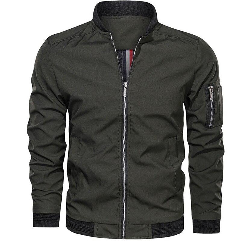 Куртка D2499 мужская повседневная Уличная одежда мужские куртки и куртки мужские пилоты простые мужские куртки в британском стиле