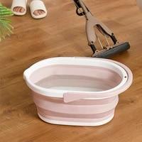 foldable clean bucket car wash outdoor fishing bathroom washbasin kitchen wash accessories supplies