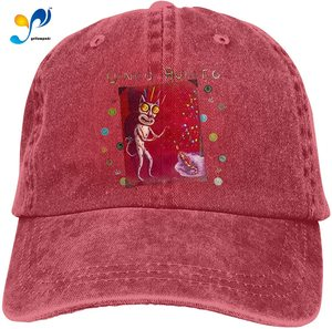 Oingo Boingo Retro Sports Denim Cap Adjustable Snapback Casquettes Unisex Plain Baseball Cowboy Hat Black