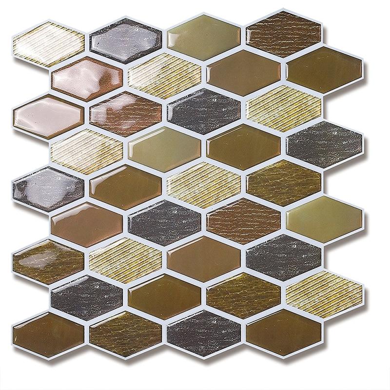 Фото - Настенная плитка, декоративная плитка, клейкая настенная наклейка, современная кухонная мозаика, Виниловая Плитка плитка виниловая primero 31кл дуб арктический 20237 1316х191х4 5мм
