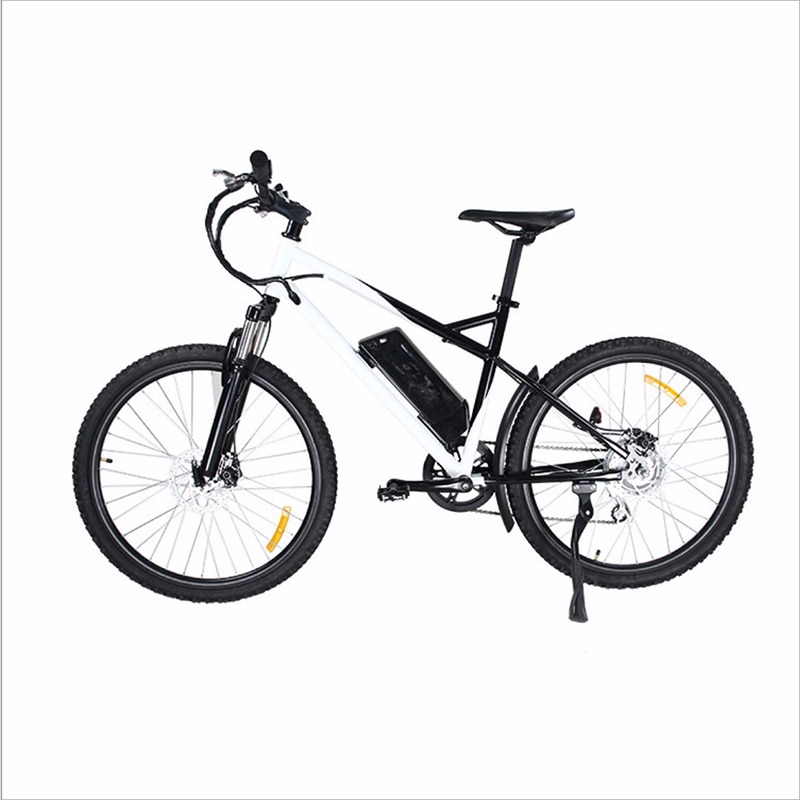 City electric bicycle 14 inch 36V lithium battery brushless motor mechanical disc brake adult booster bike