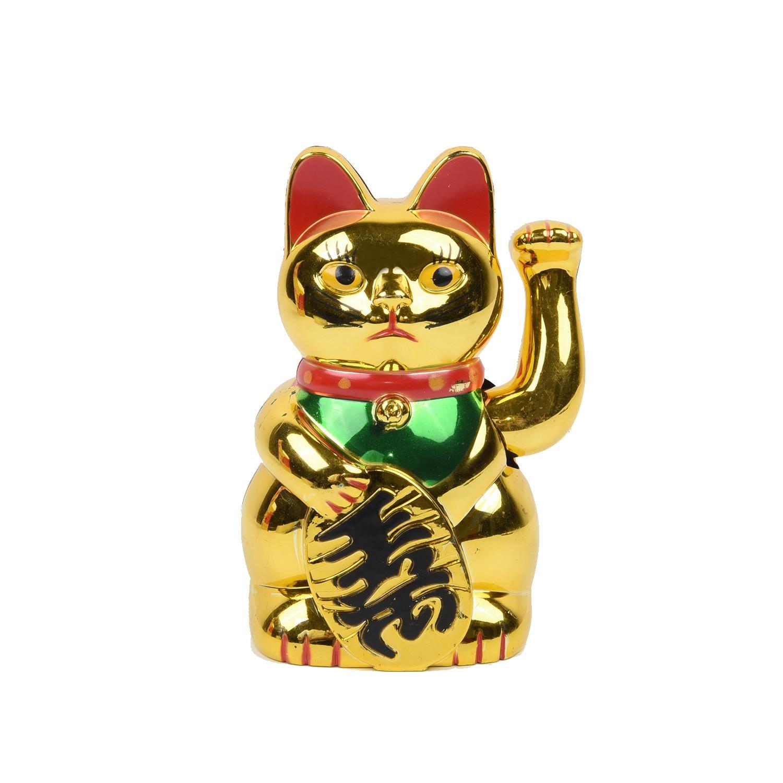 Maneki Neko Lucky Cat Waving Hand Cat Coin Bank For Home Shop Hotel  Wealth