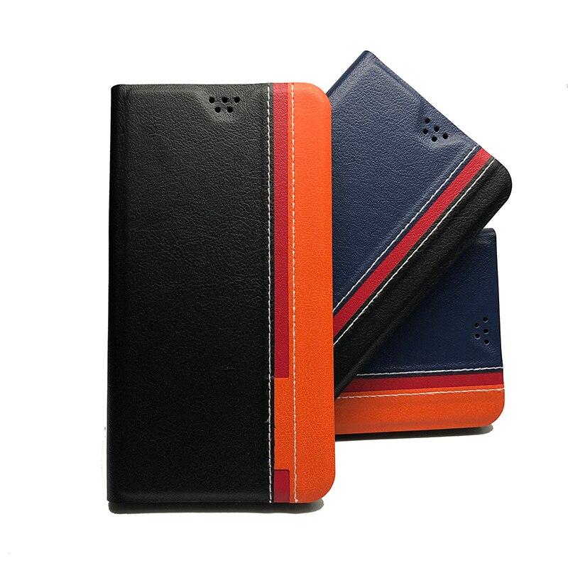 Para LG K8 Funda de cuero PU de lujo para LG K8...