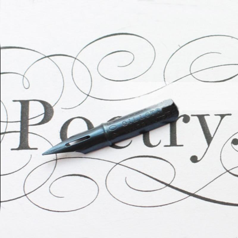 New Oblique Calligraphy Pen Nib for Dip Pen English Copperplate Script Dip Pen Nib