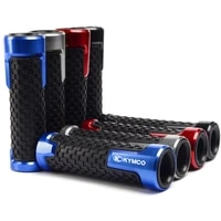 motorcycle handle grips racing handlebar grip for kymco downtown 350 300i xciting 250 ck250t 300 ck300t 400 500ri s400 k xct
