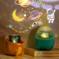 led projection night light little dinosaur starry sky light romantic rotation creative dream music lamp childrens birthday gift