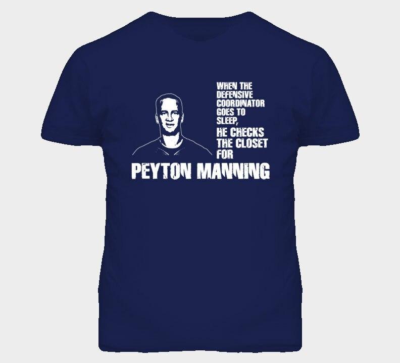Пэйтона Мэннинга Бронкос оборонительная по проверить свой гардероб Футбол Футболка