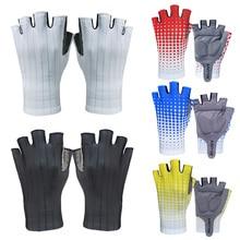 Cycling Gloves Outdoor Sports Gloves Half-finger Bike Gloves Non-slip Shockproof Shockproof Sports A