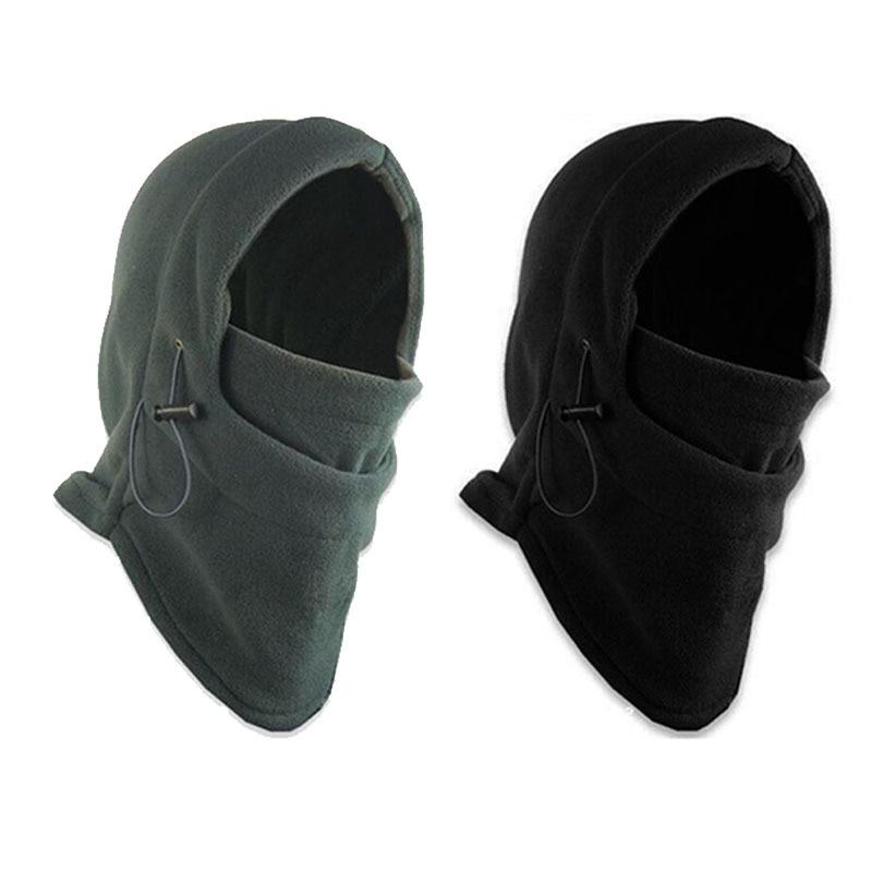 Winter Warm Beanies Hats for Men Skull Bandana Neck Warmer Balaclava Face Warmming Wargame Cap Unise