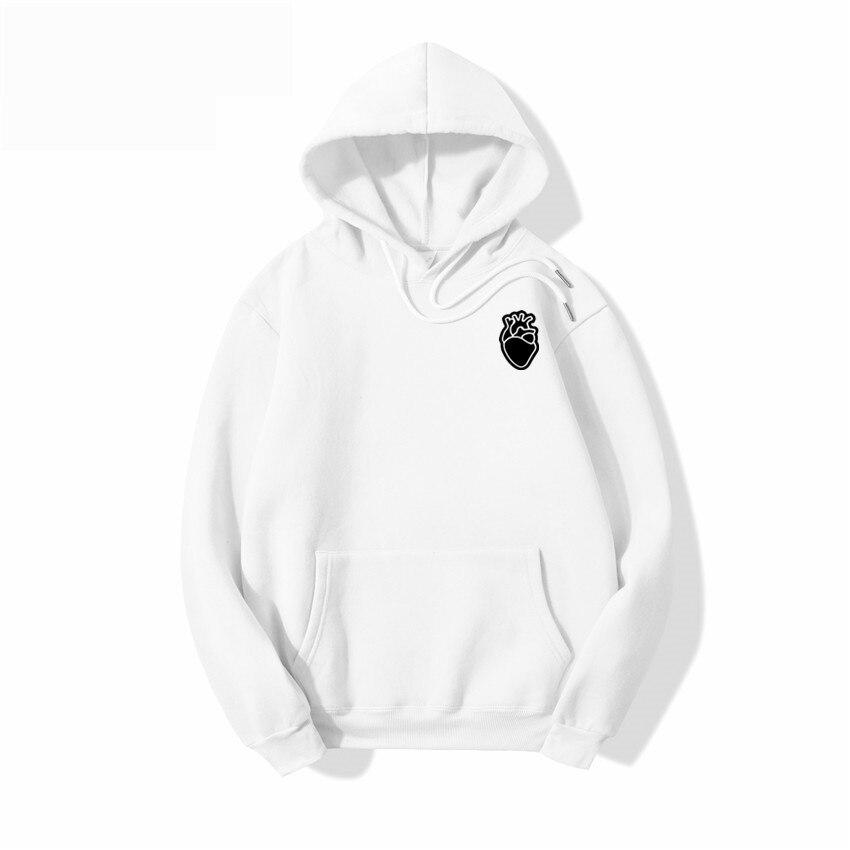 Novo casual 100% algodão cor sólida hoodie hip hop street wear camisolas de skate dos homens/mulher pulôver hoodie masculino