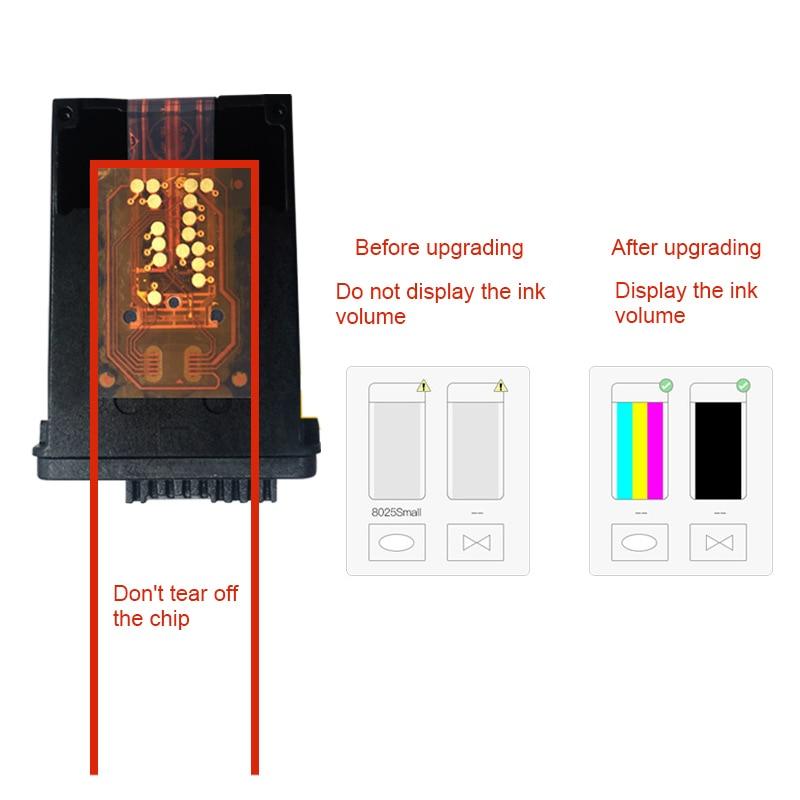 901XL de impresión de inyección de tinta cartucho Compatible HP J4500 J4580 J4640 J4660 J4680 SP99
