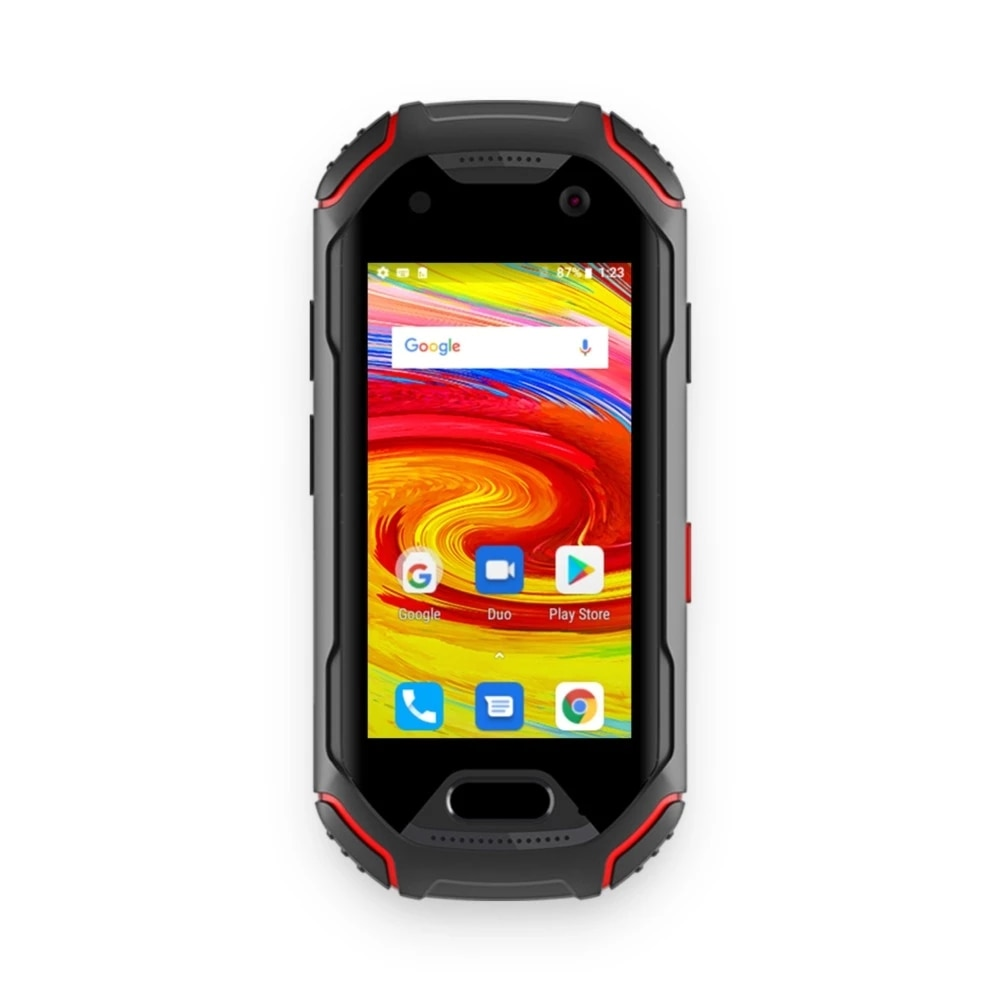 Unihertz Atom 4GB RAM and 64GB ROM The Smallest 4G Rugged Smartphone in The World Android 9.0 Pre Unlocked IP68 NFC Smart Phone enlarge