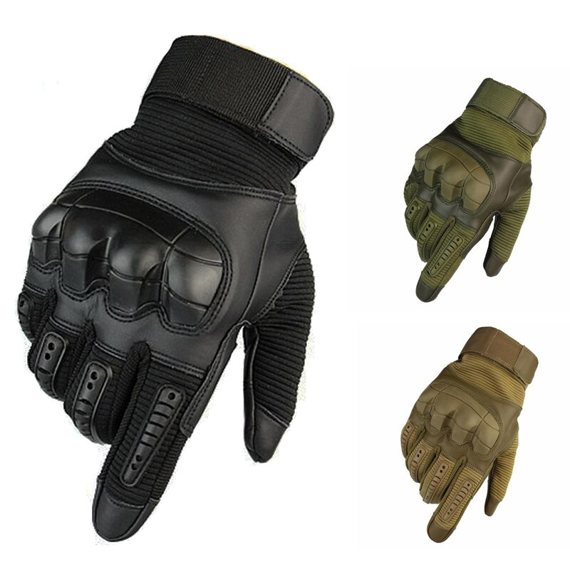 Outdoor Tactical Gloves Touch Screen Full Finger Sports Gloves Hiking Cycling Military Motorcycle Me