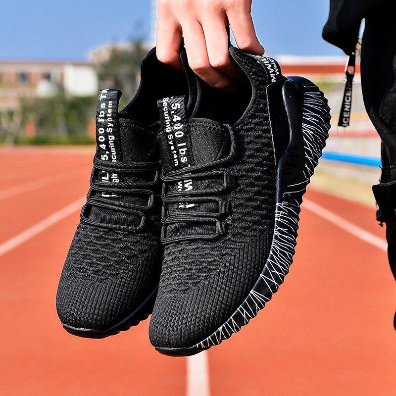 Кроссовки мужские сетчатые, дышащие легкие повседневные Сникерсы, уличная спортивная обувь для спортзала, весна-осень 2021 кроссовки мужские сетчатые дышащие легкие повседневные удобные сникерсы для прогулок