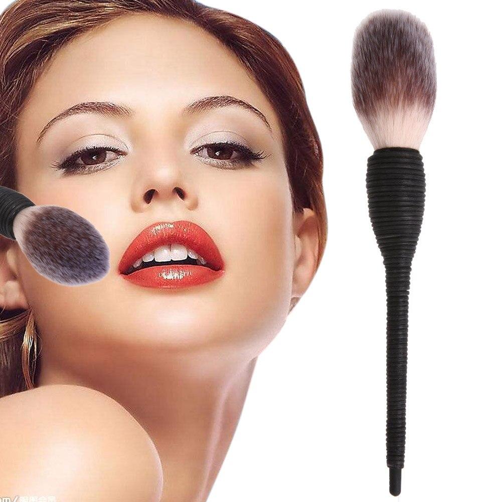 1 PC Pro Women Flat Blusher Powder Foundation Eye Shadow Face Makeup Brush Nature Goat Hair Cosmetic Tools