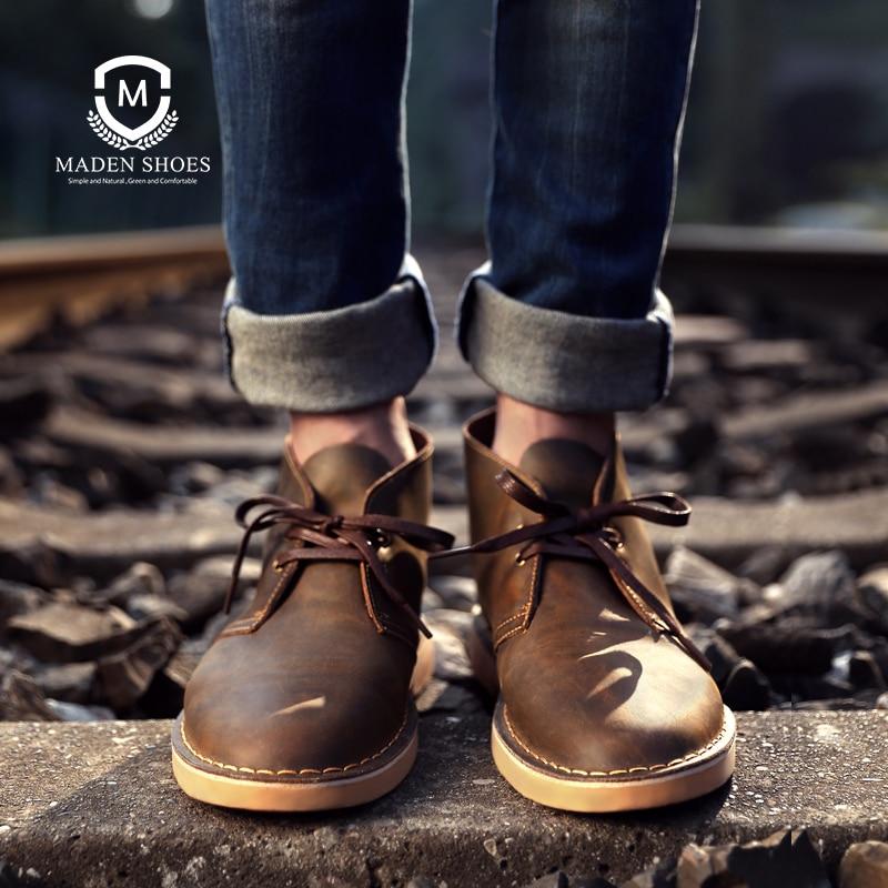 Maden-أحذية جلدية مريحة مع أربطة للرجال ، أحذية عصرية ذات نوعية جيدة ، نعل خارجي متين ، غير رسمي ، خريف 2020