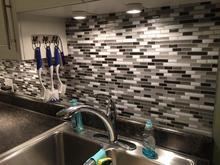 Peel and Stick Tiles Kitchen Backsplash Smart Waterproof Brick Adhesive Mosaic Wall  3D Wallpaper