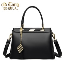 High Quality Solid Color Designer Women's Handbag Casual Concise Shoulder Bags for Women 2021 New Le