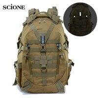 Тактический рюкзак для кемпинга XA714A, 40 л, военная дорожная сумка, армейский рюкзак для альпинизма, походов, уличная Светоотражающая сумка