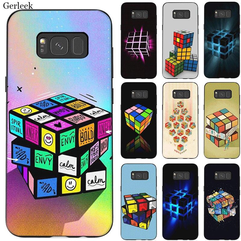 Caja del teléfono móvil para Samsung Galaxy A70 A60 A50 A40 A30 A20 A10 A10s A20s A30s A40s A50s A3 A5 a6 A7 A8 A9 cubierta de cubo mágico