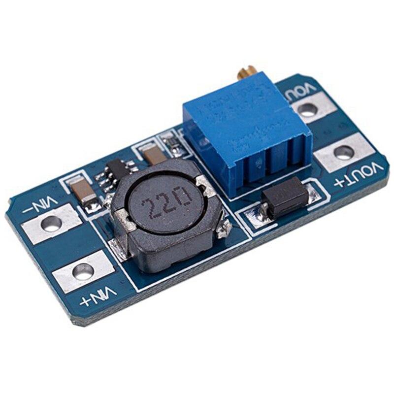 New 100PCS/LOT MT3608 2A Max DC-DC Step Up Power Module Booster Power Module