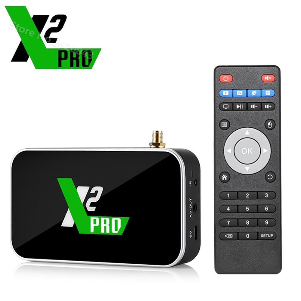 UGOOS X2 PRO Smart Android 9.0 TV Box Amlogic S905X2 4GB DDR4 32GB 2.4G 5G WiFi 1000M Bluetooth 4K HD lecteur multimédia vs X3 PRO