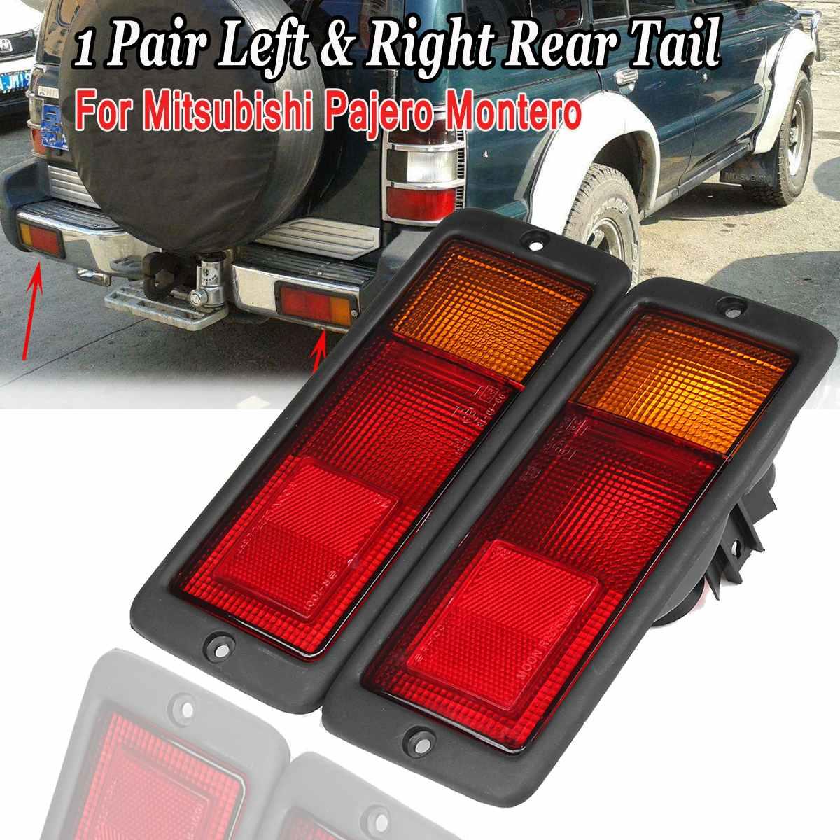 2 lâmpadas de luz traseira de carro, lâmpadas de halogênio mb124963 mb124964 › 2141946ouou-para mitsubishi pajero montero 2010-2019