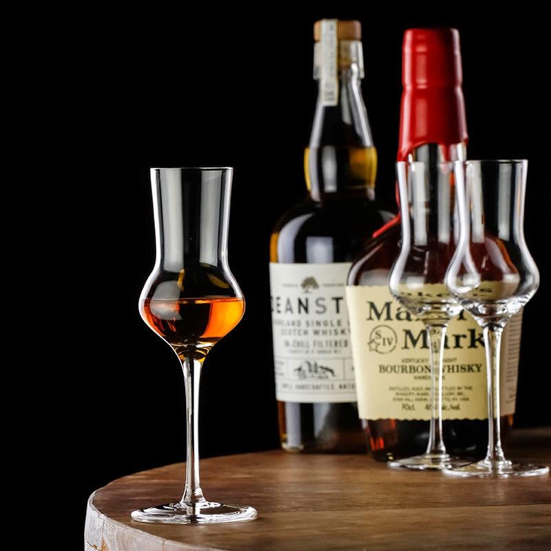 Niche Vintage Whisky Goblet ISO Whiskey Crystal Wine Glass fragrance smelling Cup nmd verre vasos de cristal copas de vino vidro