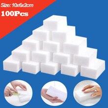 10x6x2cm mélamine éponge magique éponge gomme 20/50/100 pièces blanc nettoyage éponges pour cuisine salle de bain accessoires Cleaner