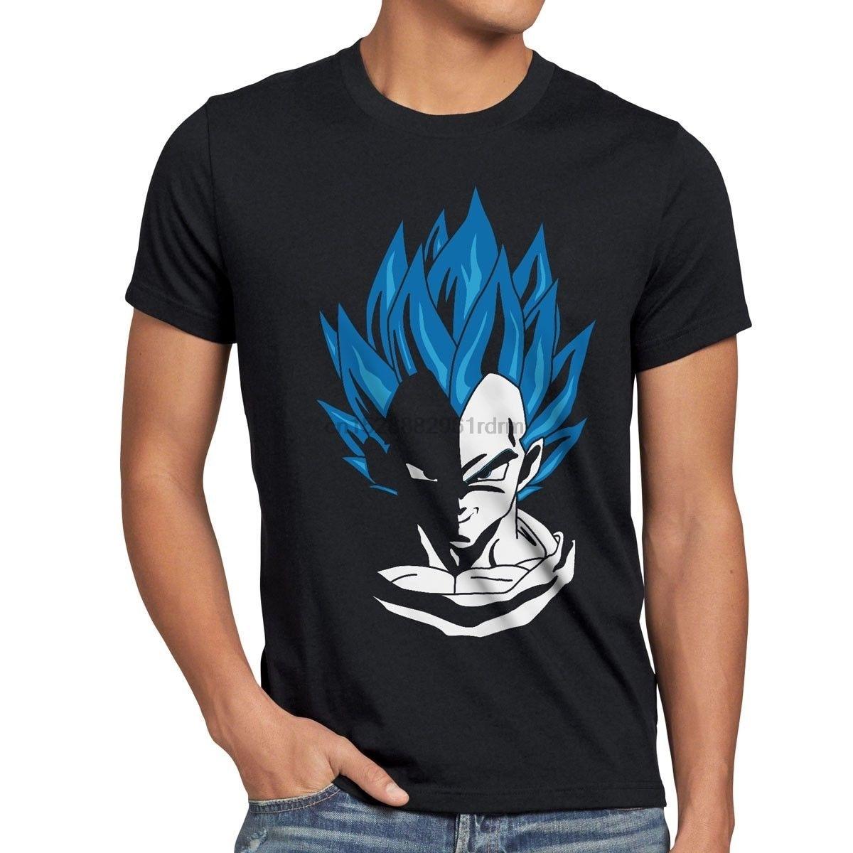 Super Vegeta Herren camiseta hijo de goku evolución fitness deporte dragón roshi 2019 moda t camisa 100% algodón camiseta