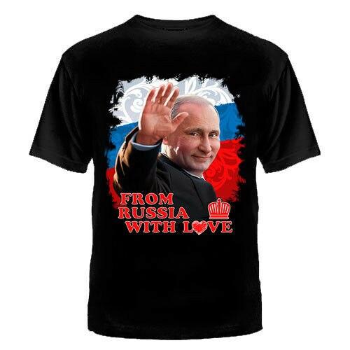 Camiseta rusa del ejército militar VLADIMIR, camiseta de PUTIN, Rusia, Militaria, para hombre, verano, algodón, cuello redondo, camiseta de manga corta, nuevo tamaño, S-3XL