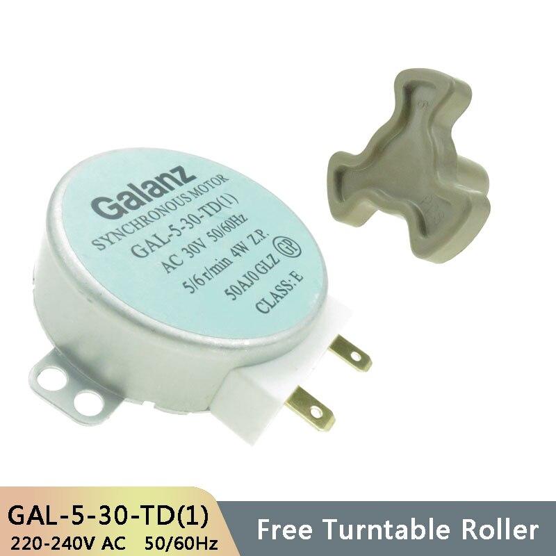 GAL 5 30 TD(1) AC30V 50/60Hz микро Проигрыватель Синхронный Мотор лотка микроволновая печь