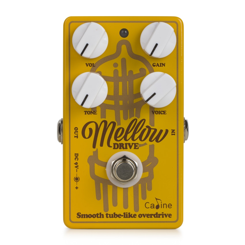 Caline CP-502 Mellow Drive Pedal Overdrive Guitar Effect Pedal Guitar Accessories