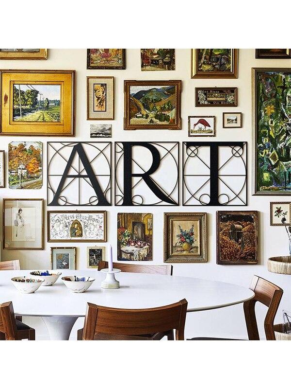 Art Metal Wall Table