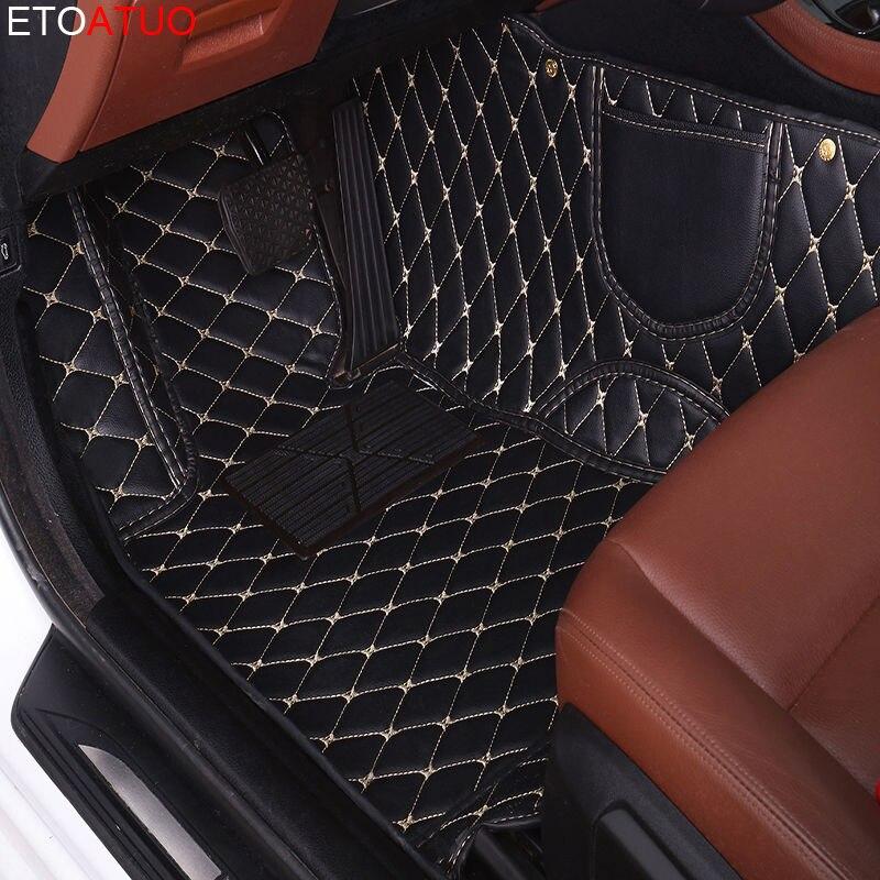 Etoatuo personalizado tapete de assoalho do carro para buick excelle gl6 enclave null velite 5 envision encore gl8 verano park avenue lacrosse rega