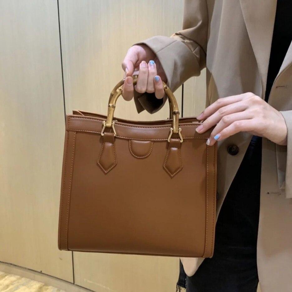 المرأة حقيبة يد 2021 جديد المستوردة الطبقة الأولى حقيبة يد جلدية حريمي الراقية حقيبة سلوب سعة كبيرة واحدة الكتف حقيبة ساعي