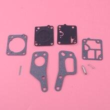 LETAOSK 1 ensemble Kit de réparation de carburateur de carburateur de tronçonneuse adapté pour McCulloch Mini Mac 110 120 130 140 Zama RB19 M1M7