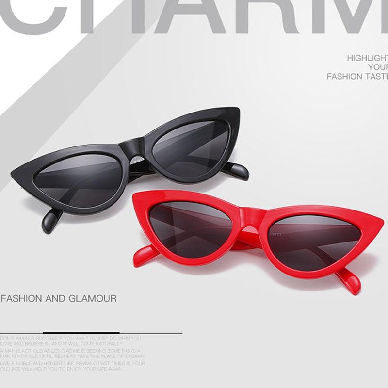 Cute Cat Eye Sunglasses For Men Women Luxury Gafas De Sol Luxury Shades 2021 Fashion Brand Glasses V