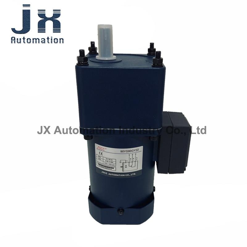 JSCC التيار المتناوب التعريفي المحرك 90 واط مرحلة واحدة 220 فولت 90YS90GY22 + 90GK10H