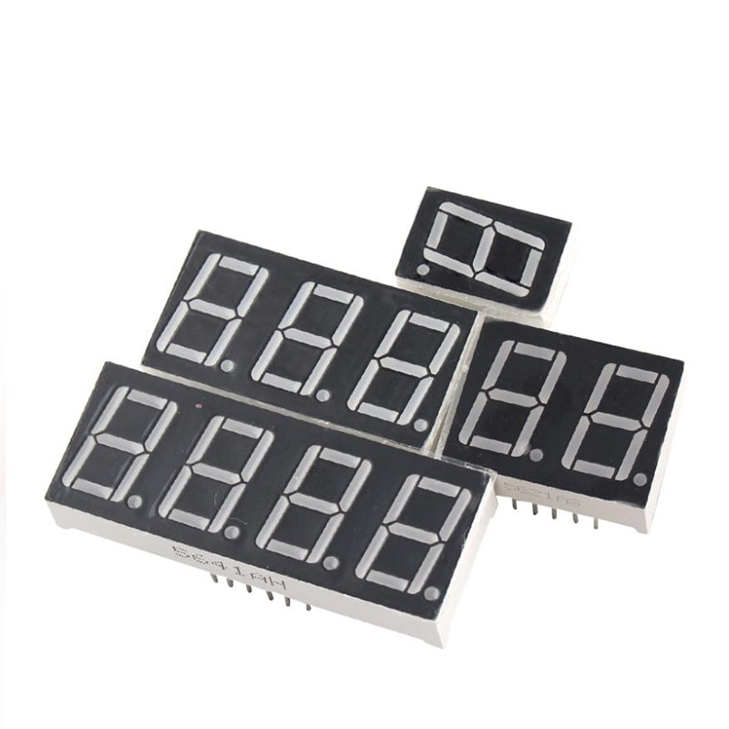 7 segment oil gas fuel white 8 digital numbers led petrol station price display sign outdoor waterproof board 10pcs/lot digital tube led display 4Bit Common Cathode / Anode 0.28 0.36 0.4 0.56 inch 7 segment for arduino led display