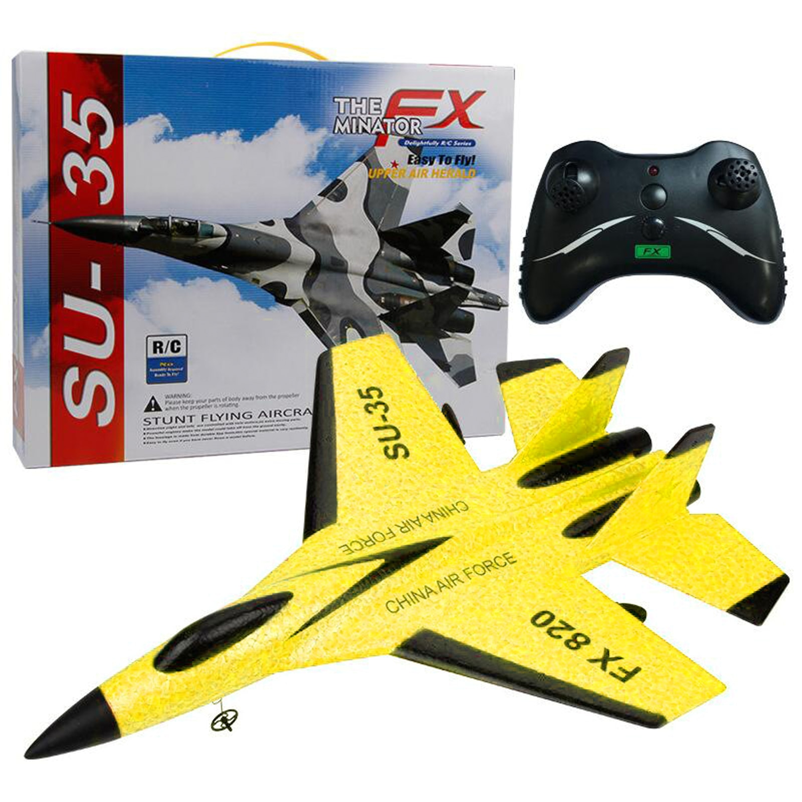 New RC Remote Control Airplane 2.4G Remote Control Fighter Hobby Plane Glider Airplane Foam Toys RC