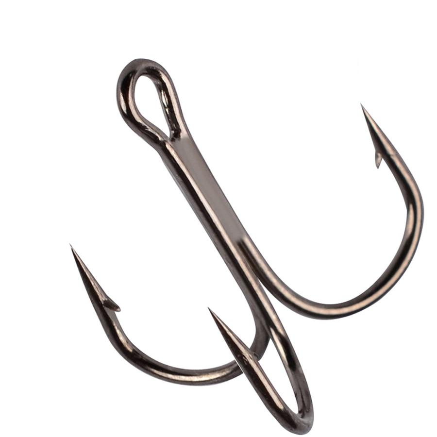 Карп/тройной крючок для рыбалки из углеродистой стали, колючие рыболовные крючки, морские супер острые Крючки из нержавеющей стали/тройные/...