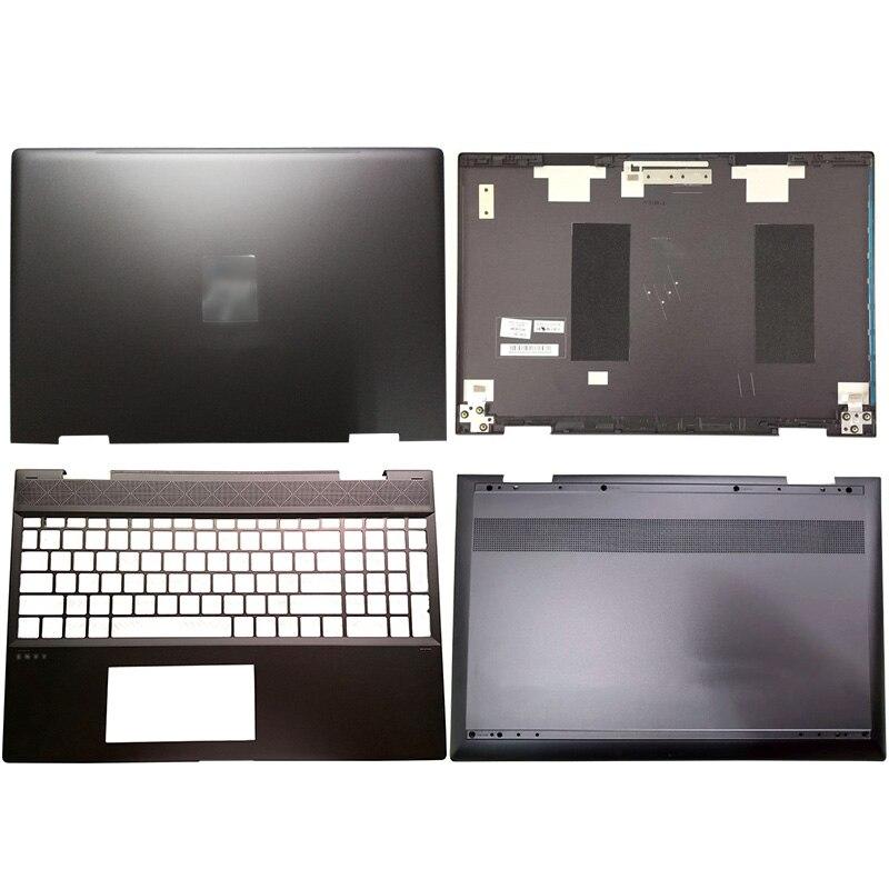 Capa traseira preta do lcd do portátil/palmrest/caixa inferior para hp envy x360 15-cn 15m-cn 15-cn013tx 609939-001 L23794-001 L32767-001