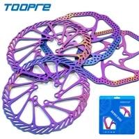 toopre bicycle disc brake rotor mtb bike centerline 160180mm colorful brake disc rotor cycling g3hs1 disc brake parts