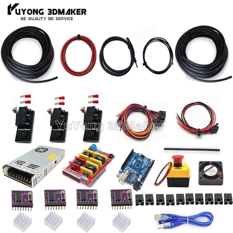GRBL-مجموعة تحكم UNO R3 مع درع CNC V3 و DRV8825 ، لـ Workbee و OX CNC وآلة CNC الأخرى