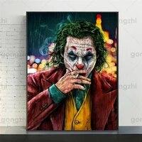 Affiche dart mural avec personnages de Clown  decoration de la maison  sans cadre