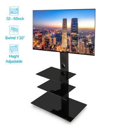 De servicio pesado piso TV soporte de montaje giratorio para 32 36 42 46 47 50 55 52 60 65 en TVs
